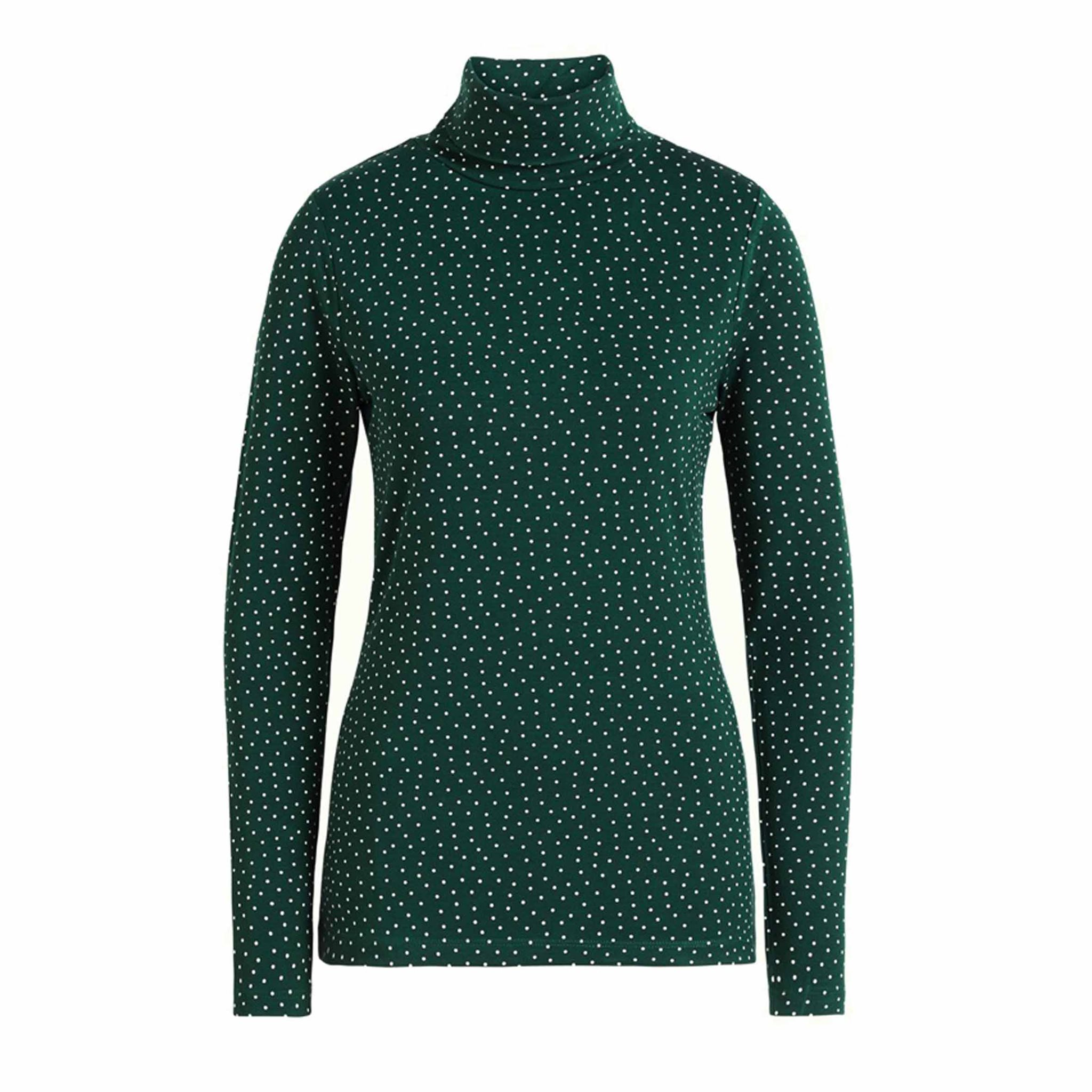 BETSY ROLLNECK TOP LITTLE DOTS KING LOUIE