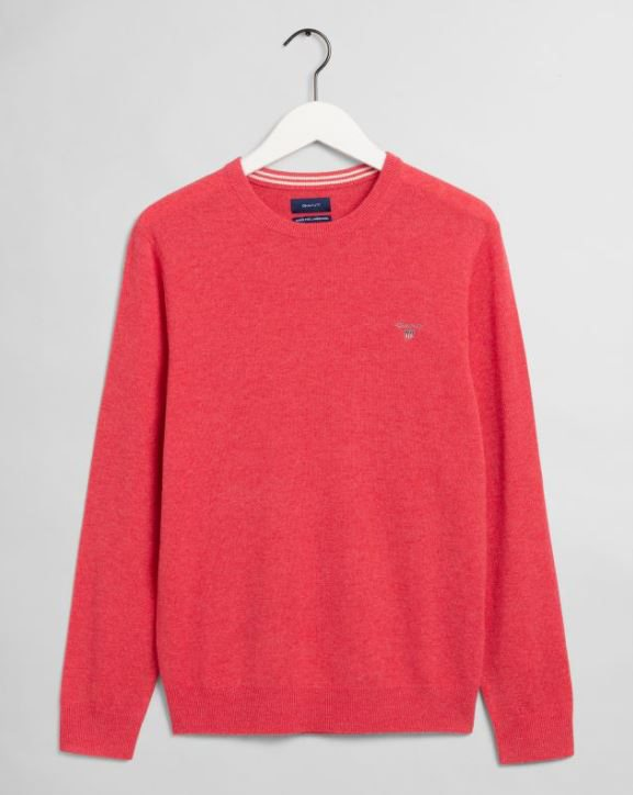 SUPERFINE LAMBSWOOL CREW GANT MAN