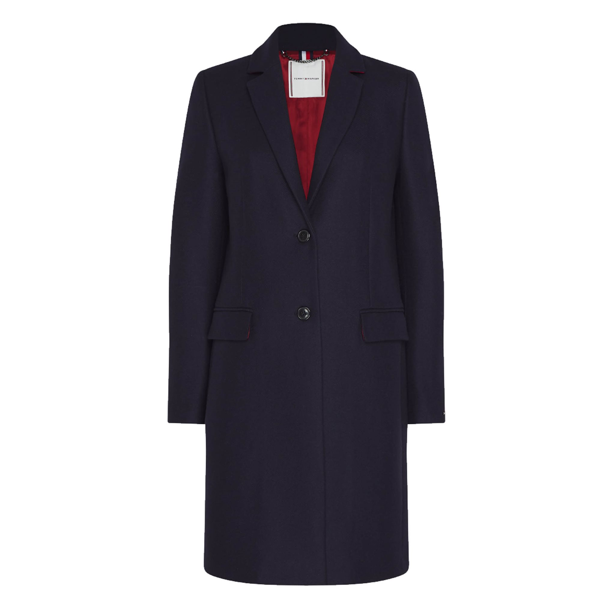 WOOL BLEND CLASSIC COAT TOMMY HILFIGER