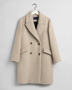 OVERSIZED WOOL BLEND COAT GANT WOMAN