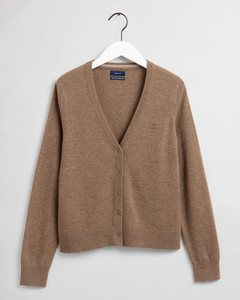 SUPERFINE LAMBSWOOL CARDIGAN GANT WOMAN
