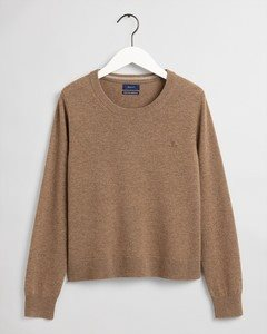 SUPERFINE LAMBSWOOL CREW GANT WOMAN