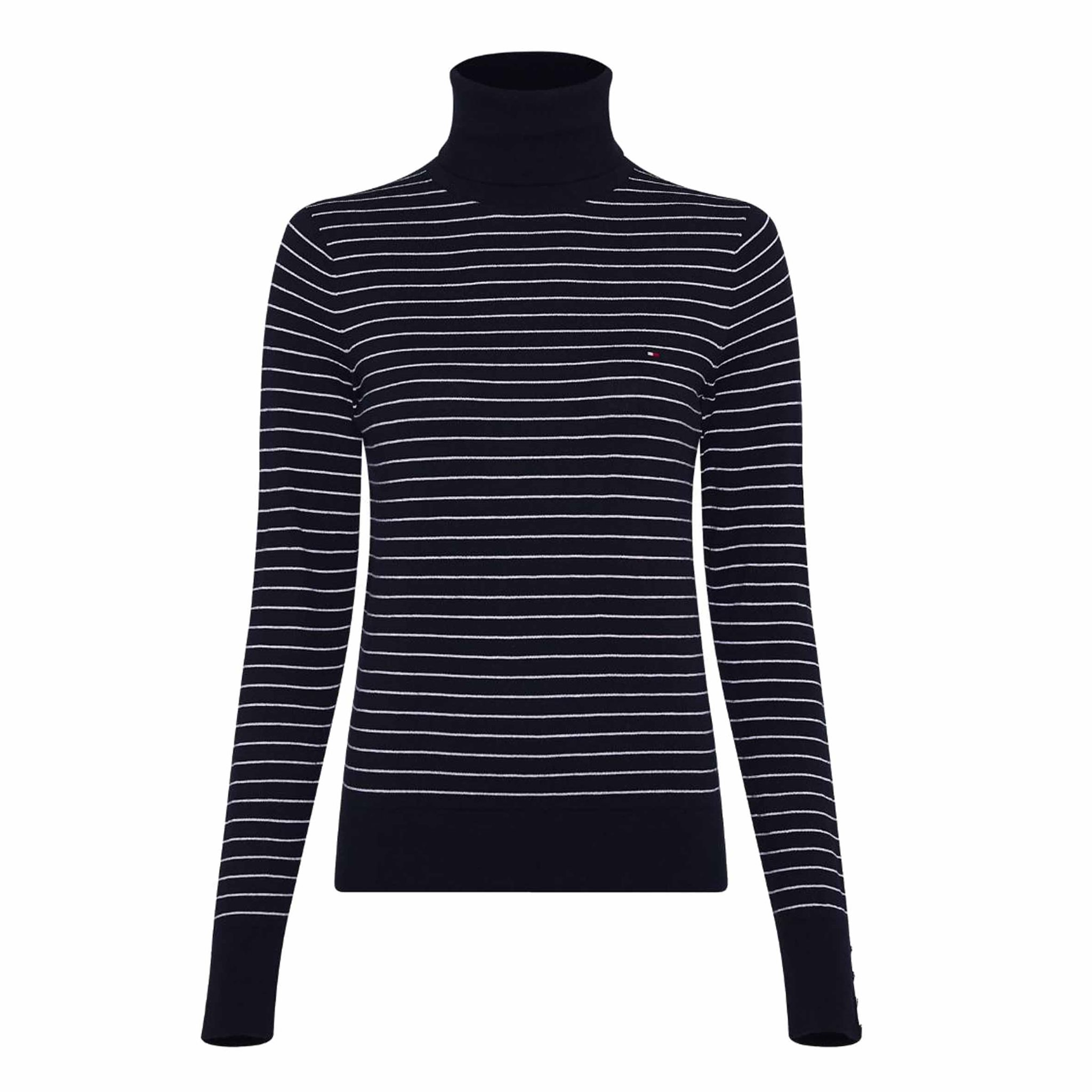 SOFT COTTON ROLL-NK SWEATER TOMMY HILFIGER