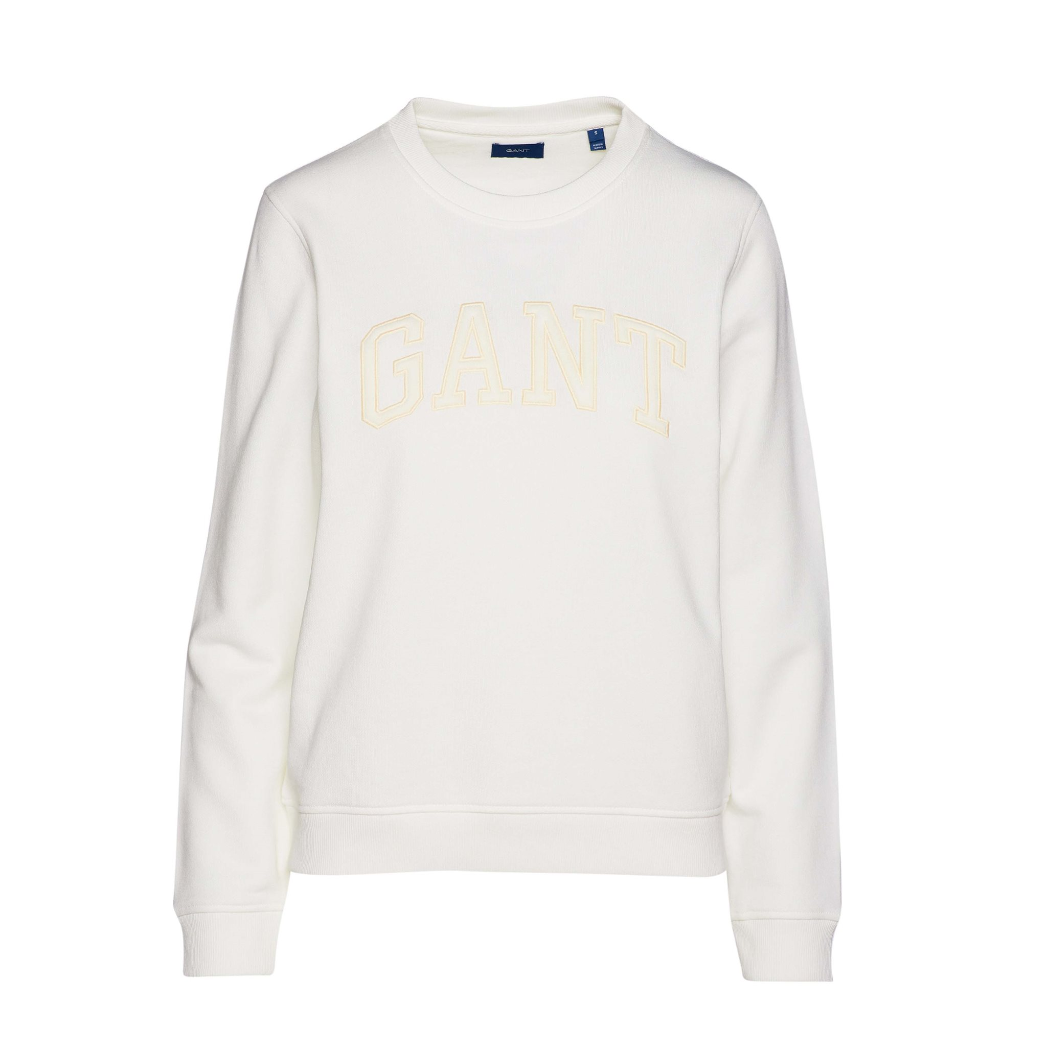 ARCH LOGO C-NECK SWEAT GANT WOMAN