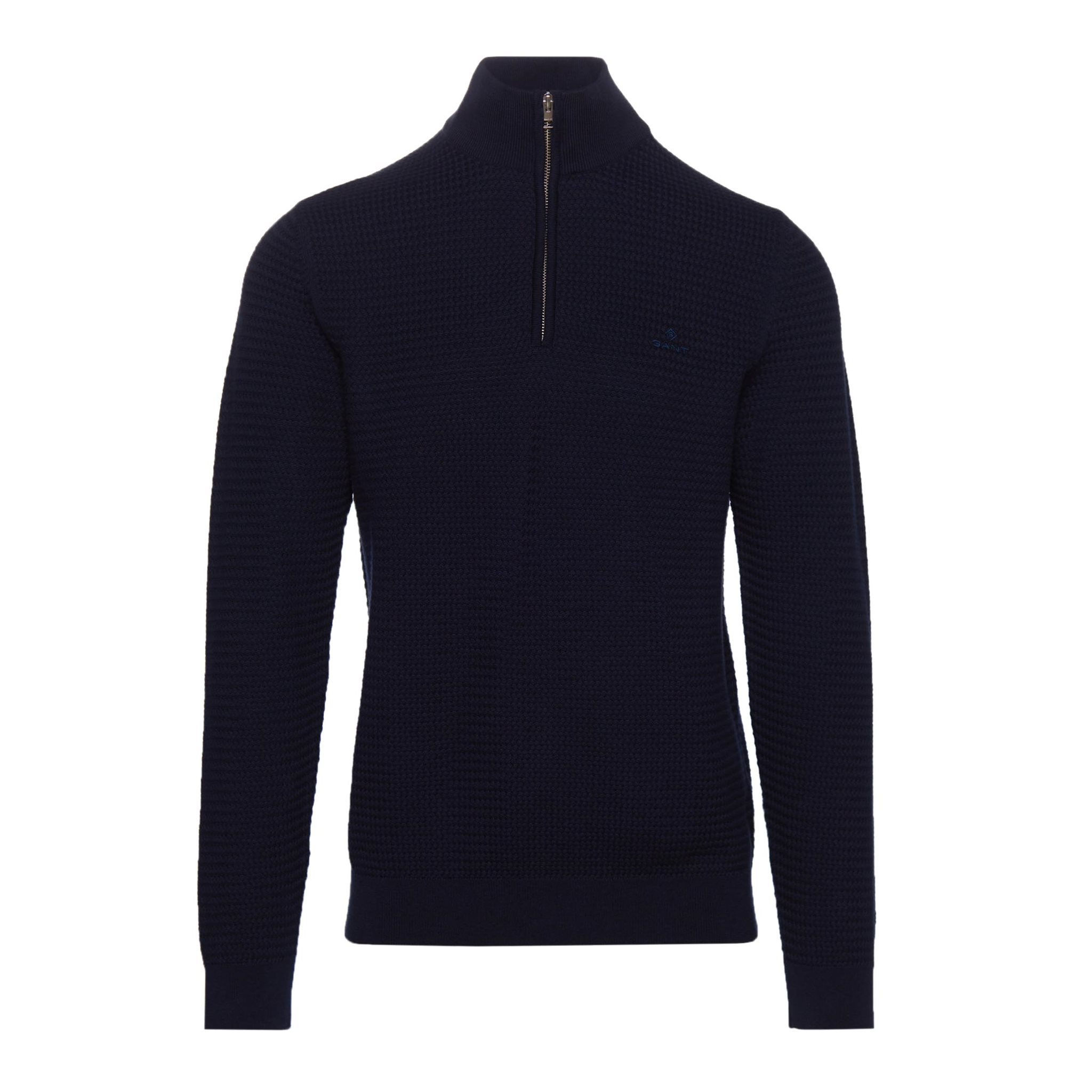 BASKETWEAVE HALF ZIP GANT MAN