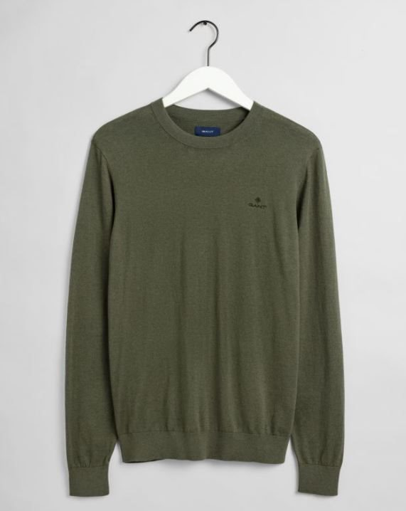 COTTON CASHMERE C-NECK GANT MAN