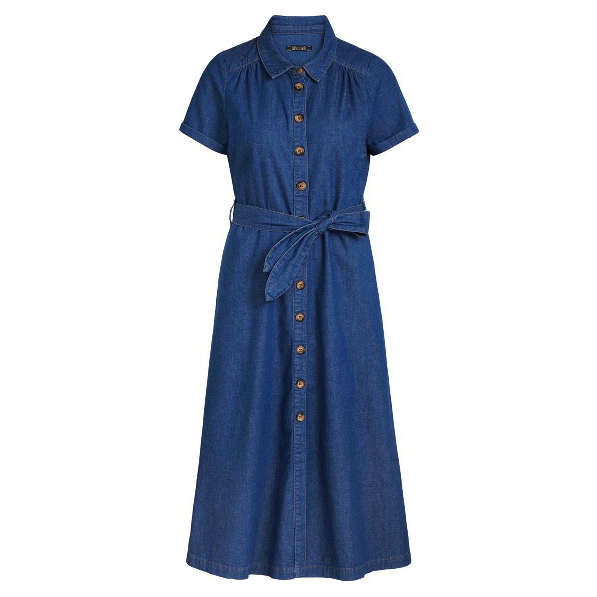 Olive Dress Chambray KING LOUIE