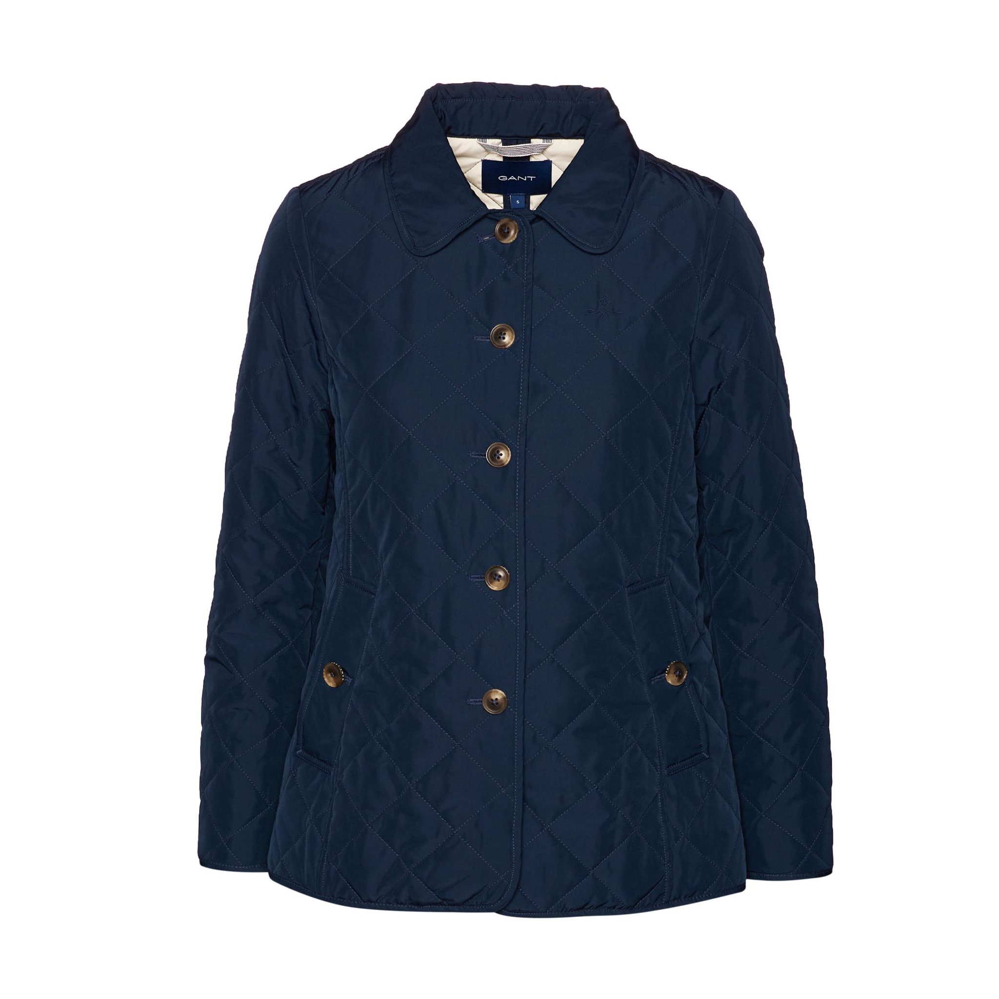 QUILTED MID LENGTH JACKET GANT WOMAN