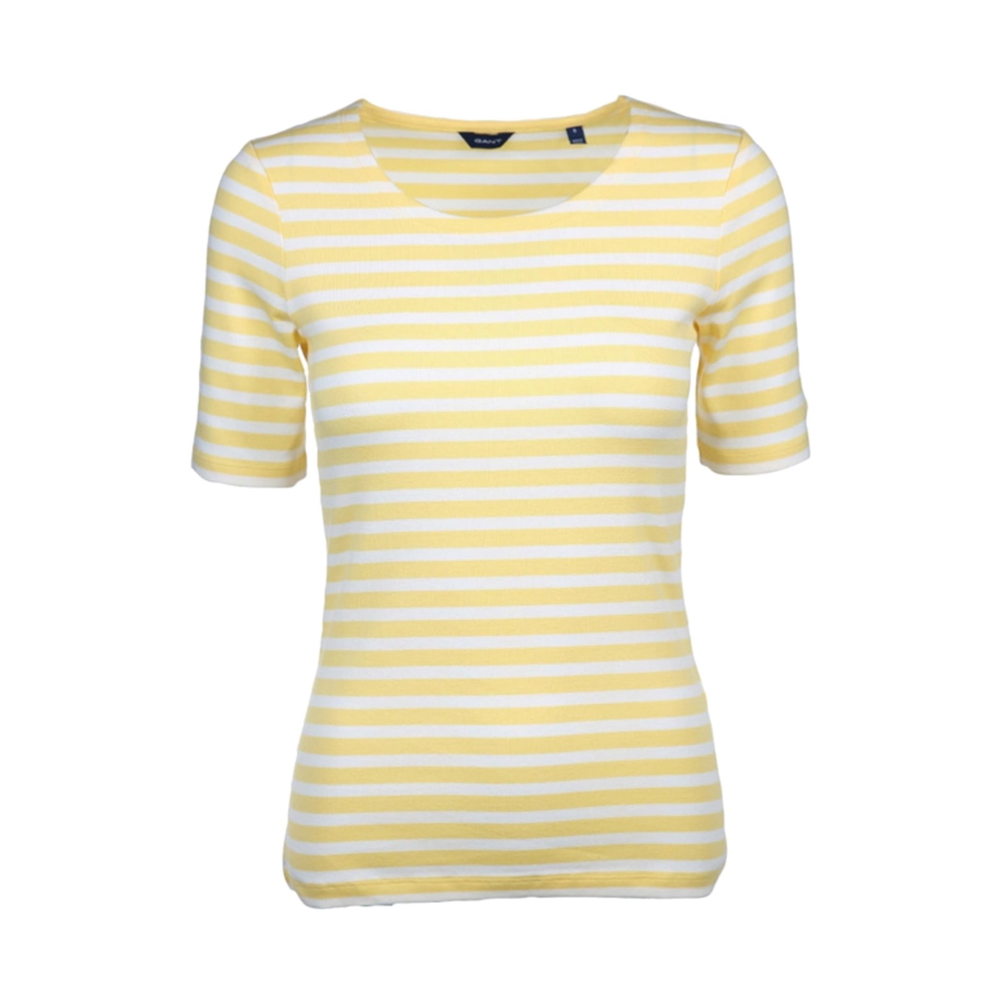 STRIPED 1X1 RIB LSS T-SHIRT GANT WOMAN