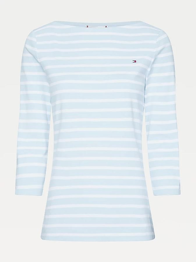 T-SHIRT BOAT NECK TOMMY HILFIGER
