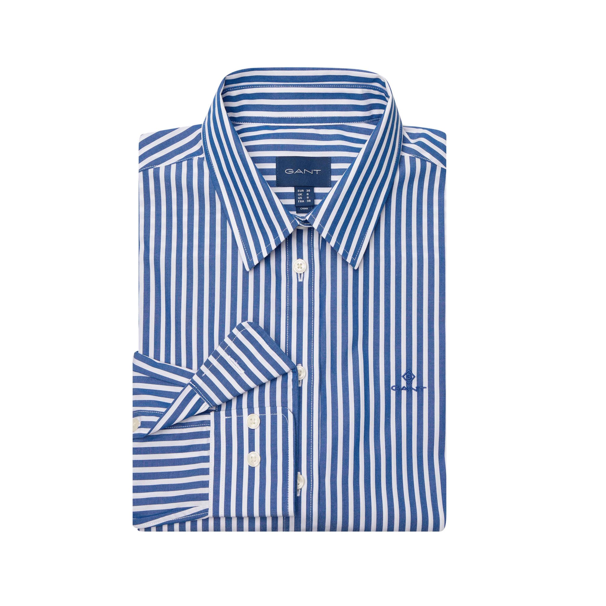 THE BROADCLOTH STRIPED SHIRT GANT WOMAN