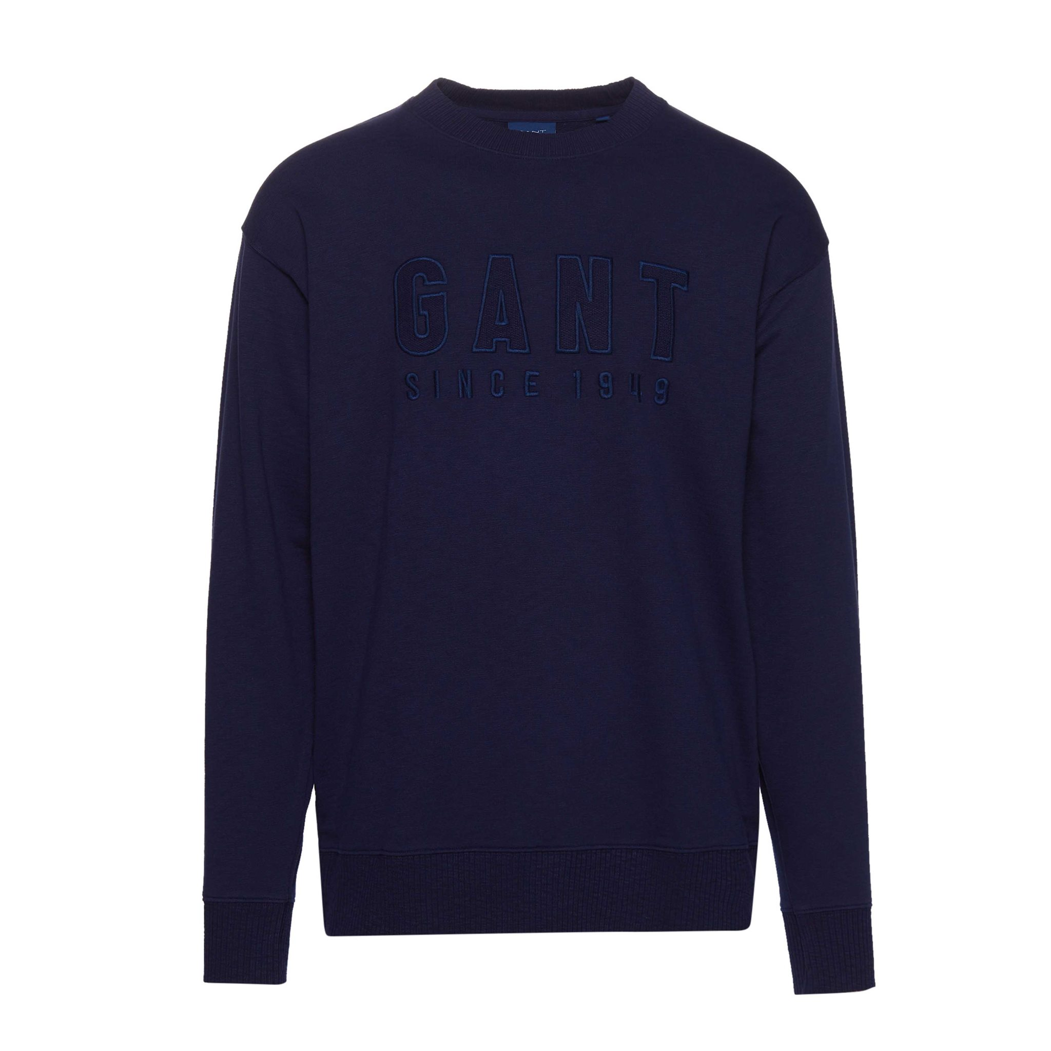 TONAL LOGO SWEAT C-NECK GANT MAN