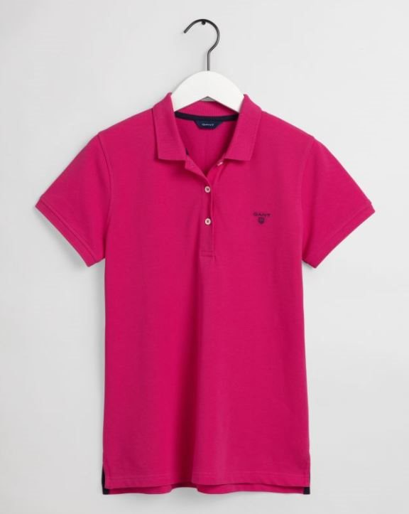 SUMMER PIQUE POLO GANT WOMAN