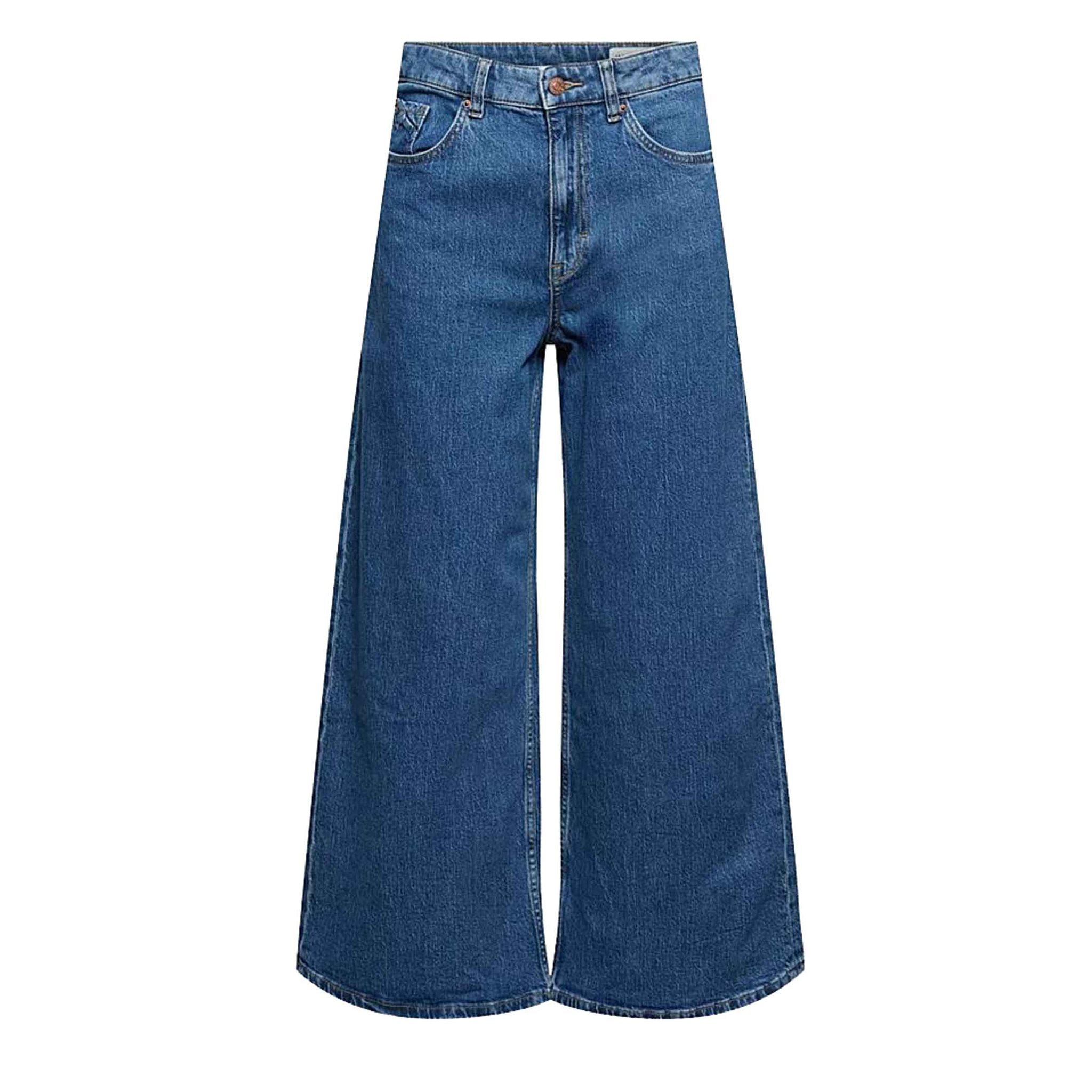 new wide leg Pants denim 28″ ESPRIT